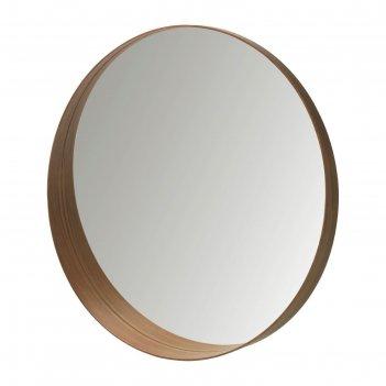 Зеркало, шпон грецкого ореха стокгольм