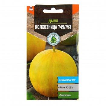Семена дыня колхозница 749/753, 1 г