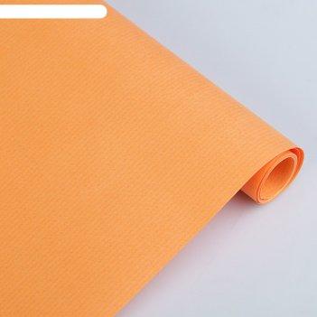 Крафт-бумага 500*2000мм sadipal forrapapel 65г/м2 оранжевый 10834