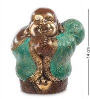43-142 фигурка смеющийся будда - бог богатства (бронза, о.бали)