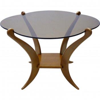 Стол журнальный «комфорт 1», сж т (не триплекс, 6 мм), 750 x 750 x 500 мм