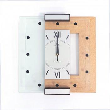 Настенные часы g-02  тик 310х310х40 мм