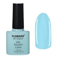 Гель-лак для ногтей голубой 10115 florans