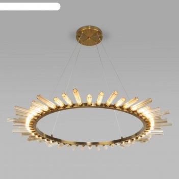 Люстра sole, 48x3вт g4, цвет золотая бронза