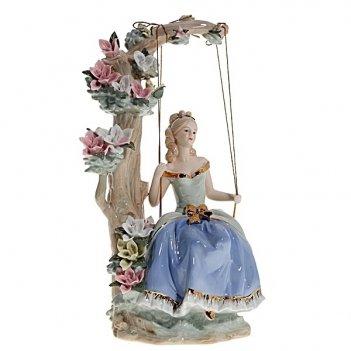 Фигурка декоративная девушка, h 35 см