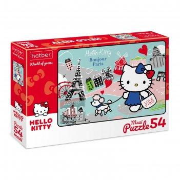 Пазл 54 элемента hello kitty