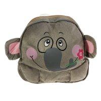 Мягкий рюкзак слон