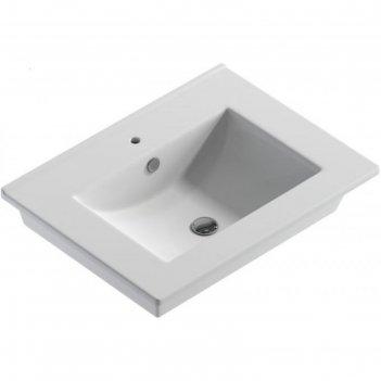 Умывальник quadro 60 f01 уп (белый вкс)