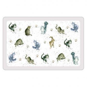 Набор из 12 подставок под горячее pimpernel забавная фауна.кошки 44х29см