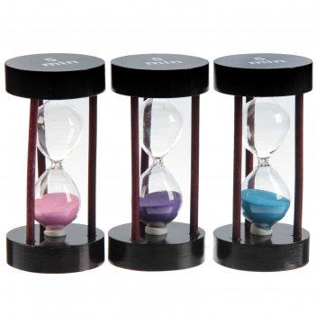 Часы песочные на 5 минут, 6х11.5 см, микс