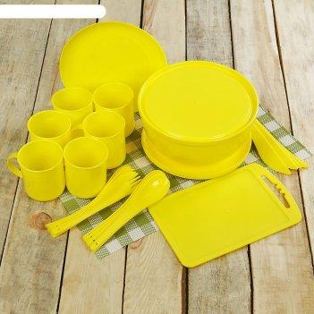 Набор для пикника на 6 персон пир, 32 предмета