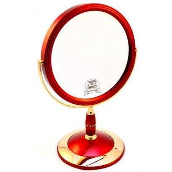Зеркало b7 808 ruby/g red&gold наст. кругл. 2-стор. 5-кр.ув.