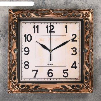 Часы настенные, серия: классика, молли, 30х30 см, микс
