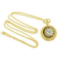 Карманные кварцевые часы «ретрика», на цепочке 80 см