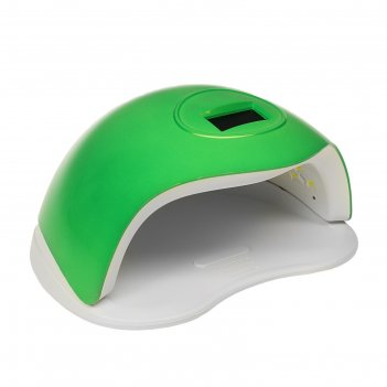 Лампа для гель-лака tnl sun, led, 72 вт, таймер 10/30/60/99 сек, зеленая