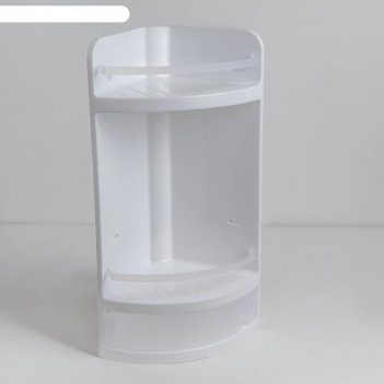 Полка в ванную, цвет прозрачный