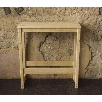 Стол барный «куба», 1000 x 400 x 1000 мм, цвет сосна