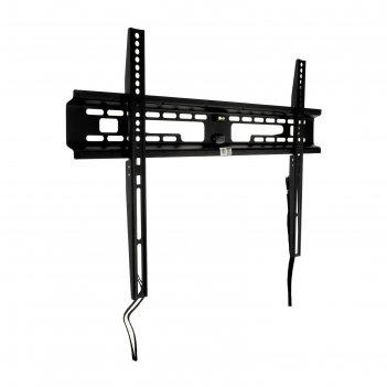 Кронштейн kromax flat-1 new, для тв, фиксированный, 32-90, 28 мм от стены,