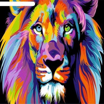 Фреска лев, а3