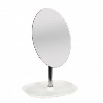 Зеркало настольное с подставкой для украшений, l16 w13 h26 см