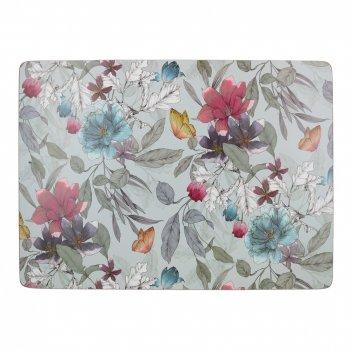 Creative tops набор из 4 подставок butterfly floral 40х29