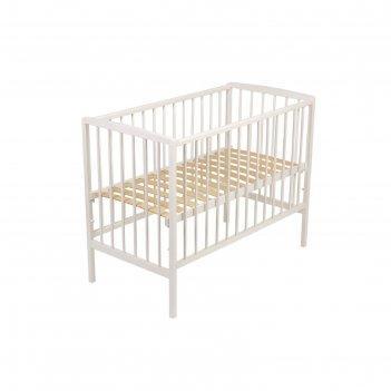 Кроватка детская «фея 101» белая