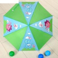 Зонт детский смешарики давай гулять! 8 спиц d=78 см