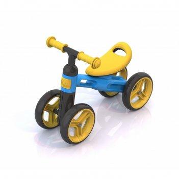 Беговел «нордпласт», цвет жёлто-голубой