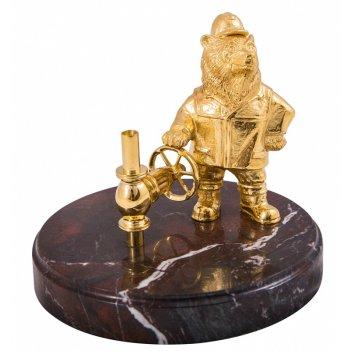 Сувенир медведь - газовик  златоуст