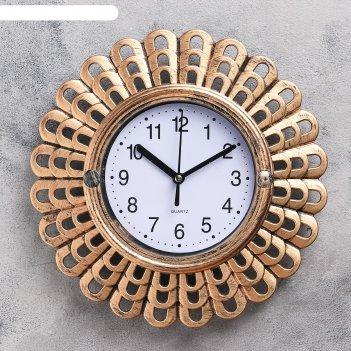 Часы настенные, серия: интерьер, мезита, 26х26 см