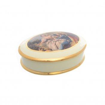 Блюдо овальное ceramiche bruno costenaro