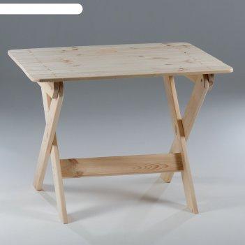 Стол складной, хвоя, 100 см