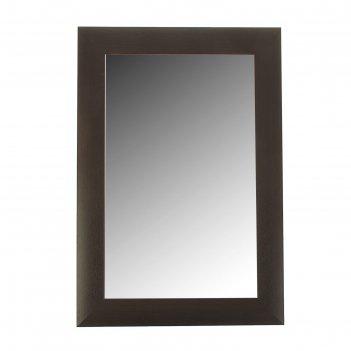 Зеркало «венге»,  настенное 41x61 см