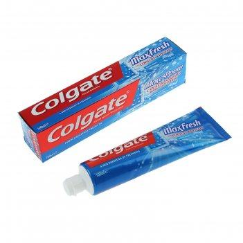 Зубная паста colgate max fresh «взрывная мята», 100 мл