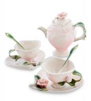 Fm-08/11 чайный набор роза на 2 персоны (pavone)