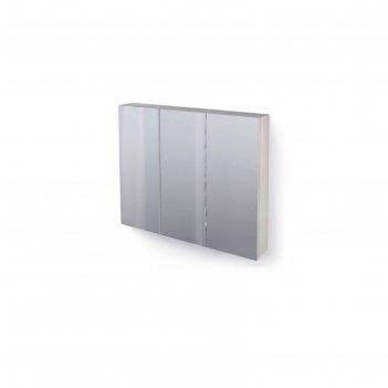 Зеркало-шкаф great 100 белый