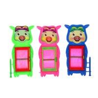 Мини-доска для рисования свинка, цвета микс