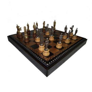 Шахматы-шашки «рим» 45х45см