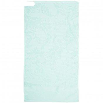 Полотенце махровое сказка 65х135 см,зеленый,500 г/м2, 100% хлопок