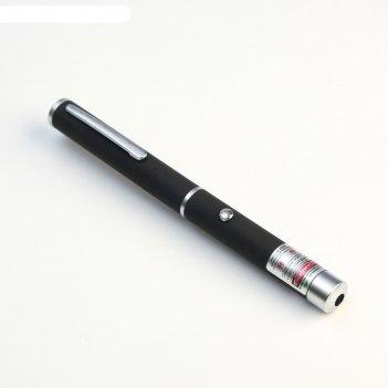 Лазерная указка 532 нм, дальность 1000 м, 2 ааа, красный луч