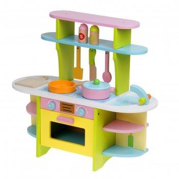 Игровой набор кухня с посудкой
