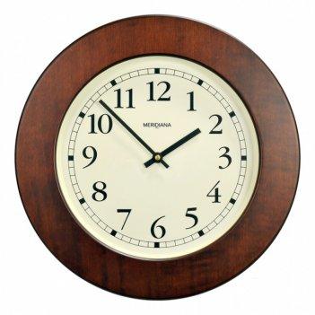 330 кантри  часы настенные, орех антик, d.31см