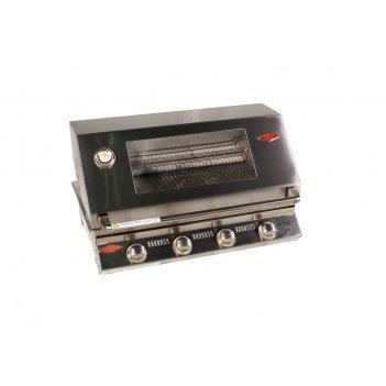 Гриль газовый встраиваемый beefeater s3000s series (4 горелки, нерж. сталь