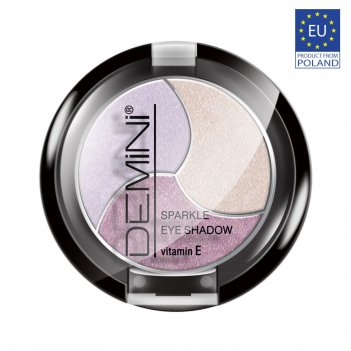 Тени для век demini sparkle eye shadow с витамином е, тон 303
