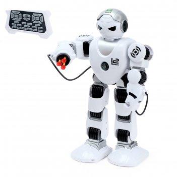 Робот радиоуправляемый «зет-альфа», ходит, стреляет, световые и звуковые э