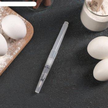 Кондитерская кисточка для декорирования клякса 15,5x1 см