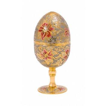 Яйцо пасхальное (цветочек) 2 рюмки златоуст
