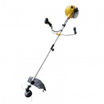 Триммер huter ggt-1500sx, бензиновый, 1500 вт, разборный вал, скос 255 мм,