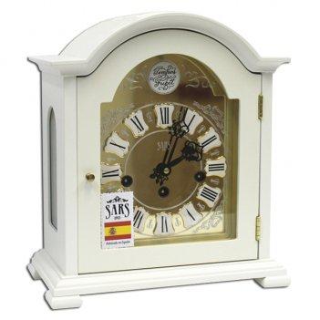 Настольные кварцевые часы sars 0095-15 white