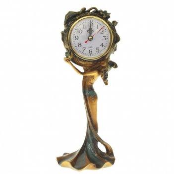 Часы настольные декоративные, l12 w10 h29 см, (1хаа не прилаг.)